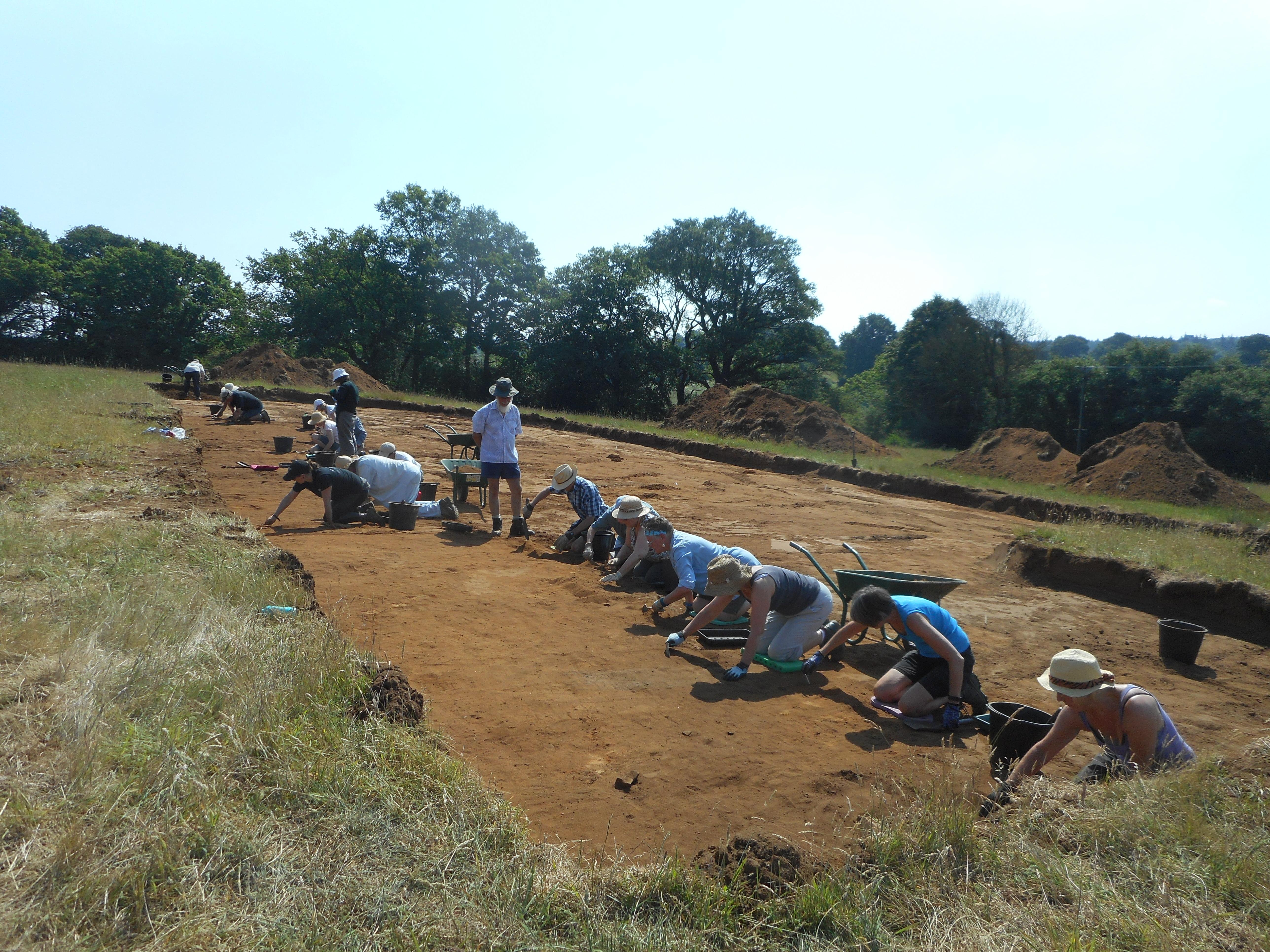 CFA17 excavation