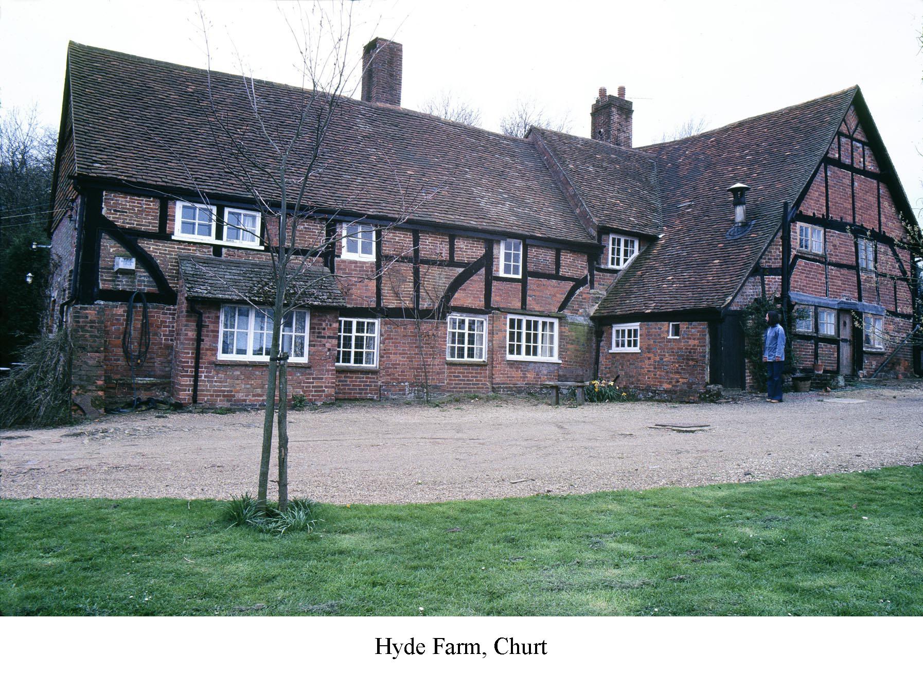 Hyde Farm, Churt