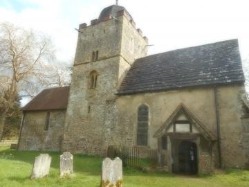 Albury Saxon Church